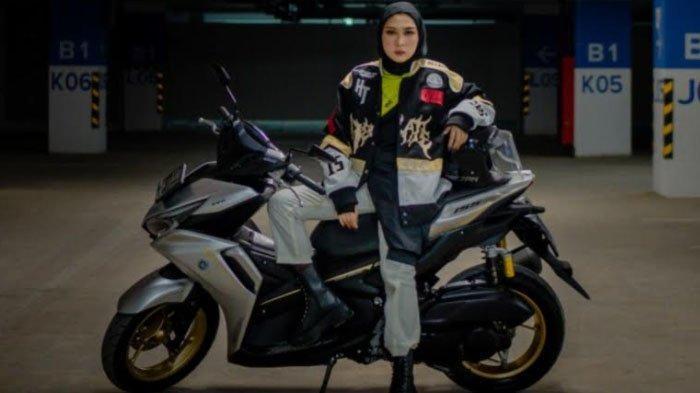 Yamaha All New Aerox 155 Connected, Motor Sport yang Nyaman Buat Cewek