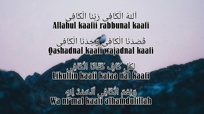 Lirik Allahul Kafi Rabbunal Kafi Tulisan Arab, Latin ...