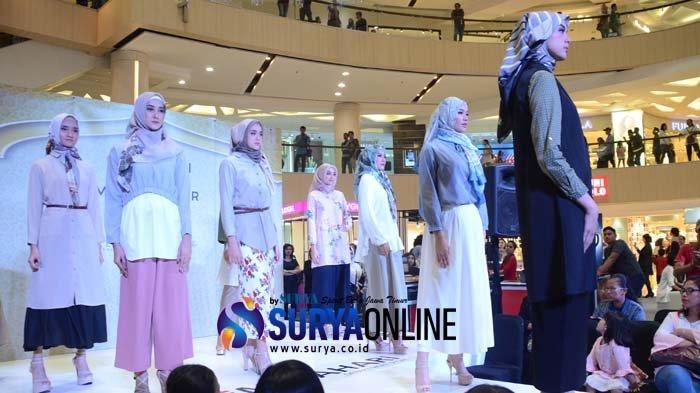 Matahari Modest Wear Fashion Show Hadir di The Great Beauty Bazaar Surabaya