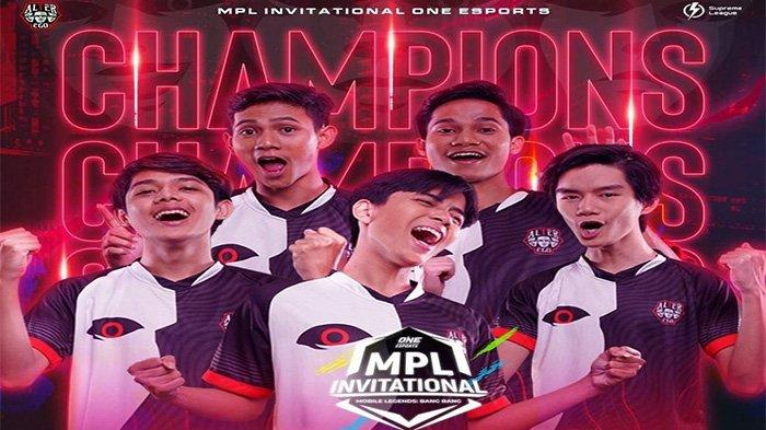 Hasil Grand Final MPL Invitational: Alter Ego Juara Usai Pecundangi Bren Esports 3-0 Tanpa Balas