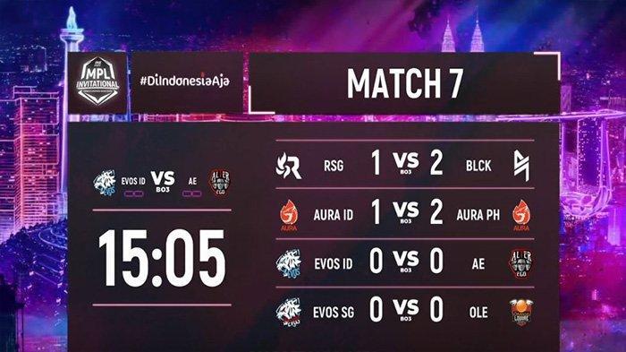 Link Live Streaming MPL Invitational: Big Match Alter Ego vs EVOS Legends Sedang Berlangsung