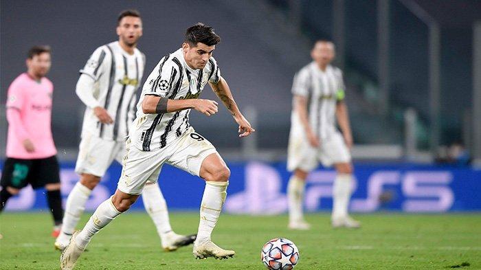 Alvaro Morata harus menerima kenyataan tiga golnya dianulir akibat offside