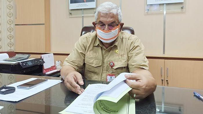 Kepala Dinas Sosial Provinsi Jatim, Alwi,