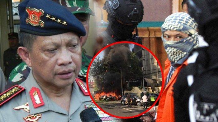 Aman Abdurrahman Sebut Pelaku Bom Surabaya Orang Sakit Jiwa, Kapolri: Tolong Viralkan Pernyataan Itu