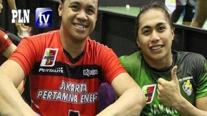 Amasya Manganang dan sang adik Aprilia Manganang sewaktu belum operasi.