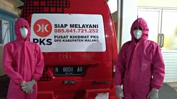 Kader PKS Uji Nyali Jadi Supir Ambulans Pasien Covid-19, Dihinggapi Rasa Was-was dan Penuh Resiko