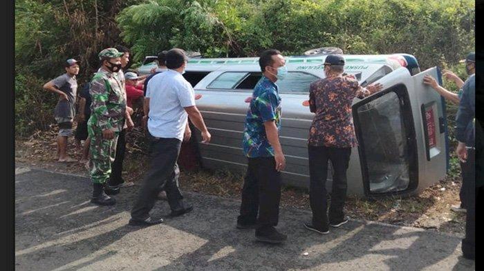 Perjuangan Berat Perawat Blitar Lawan Covid-19, Ambulans Terguling pun Vaksinasi Jalan Terus