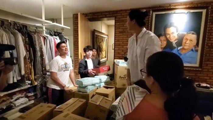 Anak Baim Wong Dapat Hadiah 5000 Popok Dari Youtuber Jess No Limit, Paula Verhoeven Teriak Kaget