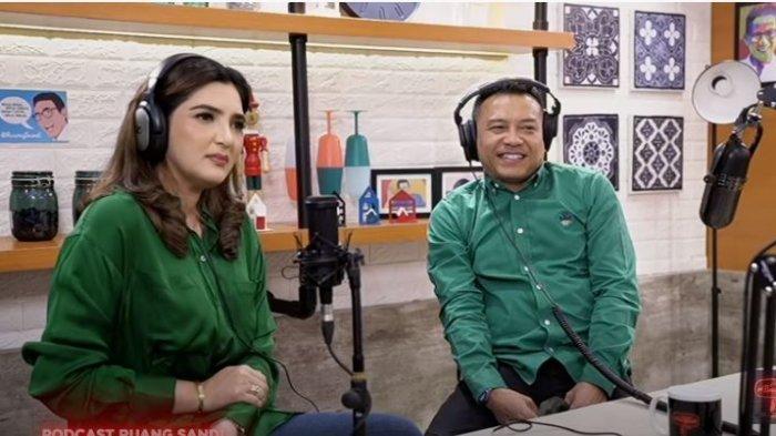 Anang Hermansyah dan Ashanty saat berkolaborasi dalam podcast Sandiaga Uno