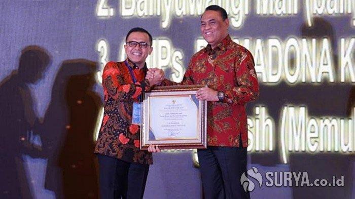 Lima Inovasi Banyuwangi Diganjar Penghargaan Sinovik oleh Menpan RB