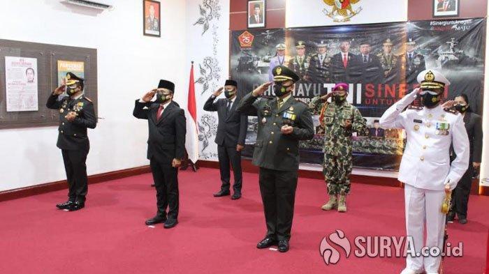 Tasyakuran HUT TNI ke-75, Bupati Anas Ajak TNI Terus Bersinergi di Banyuwangi