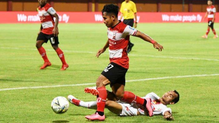 Hasil Akhir Madura United vs Persija Jakarta 2-2, Madura Nyaris Dipermalukan di Depan Pendukung