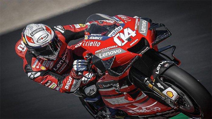 Andrea Dovisiozo saat di GP Emilia Romagna, Sirkuit Misano Marco Simoncelli, Minggu (20/9/2020)