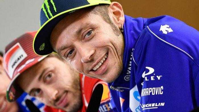 Andrea Dovizioso Satu Tim Bareng Valentino Rossi di Akhir Musim MotoGP 2021 ?