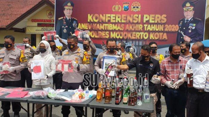 Kasus Penipuan Dominasi Tindak Kejahatan di Kota Mojokerto yang Dibongkar Polisi Selama 2020