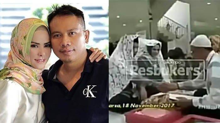 Beredar Video Akad Nikah Vicky Prasetyo-Angel Lelga, Kalimat yang Diucapkan Vicky Bikin Heboh