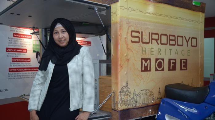 Angelia Merry Meraih Predikat Womenpreneur Berkat Peta Menu Surabaya