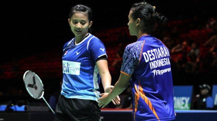 Denmark Open 2018 - Amunisi Indonesia Berkurang Setelah Pasangan Anggia/Della Mundur
