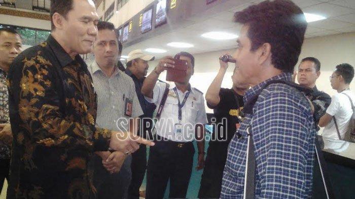 Anggota DPR Bambang Haryo Datangi Bandara Juanda, Cek Bagasi Berbayar Lion Air, Ini Permintaannya