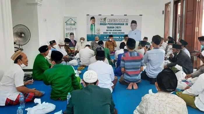Hibahkan 273 Kambing untuk Berdayakan Umat NU Bangkalan, Anggota DPR RI Diingatkan Janji Politiknya