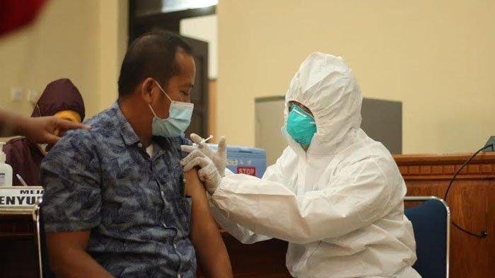 Hari Ini, Anggota DPRD Trenggalek Mulai Disuntik Vaksin Covid-19