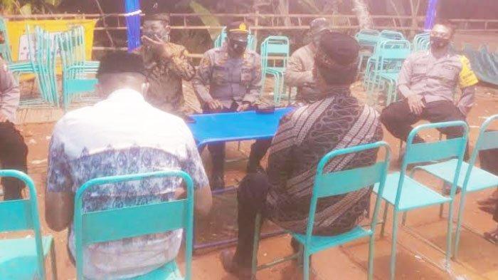 Polres Trenggalek Dalami Kasus Pelanggaran Prokes saat PPKM Darurat di Desa Ngrencak