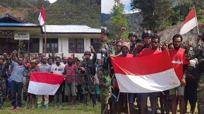 Anggota KKB Papua Purom Wenda yang menyerah