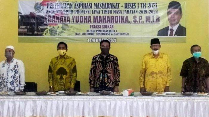 Reses di Bondowoso, Pranaya Yudha Mahardika Sosialisasikan Bantuan Kredit Pemprov Jatim