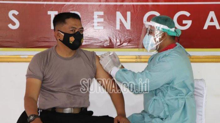 Di Kabupaten Trenggalek, Vaksinasi Covid-19 Tahap Dua Dimulai Hari Ini