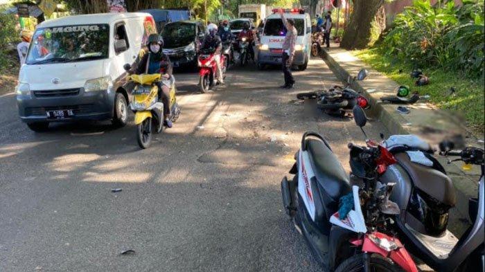 Bocah 15 Tahun Ngebut Kendarai Motor dan Tabrak Pengendara Lain di Kota Malang, 4 Orang Terluka