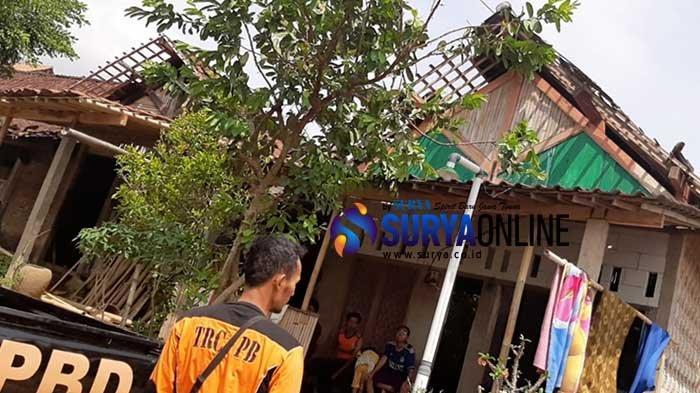 44 Rumah Rusak Disapu Angin Kencang, BPBD Magetan Langsung Terjun ke Lapangan