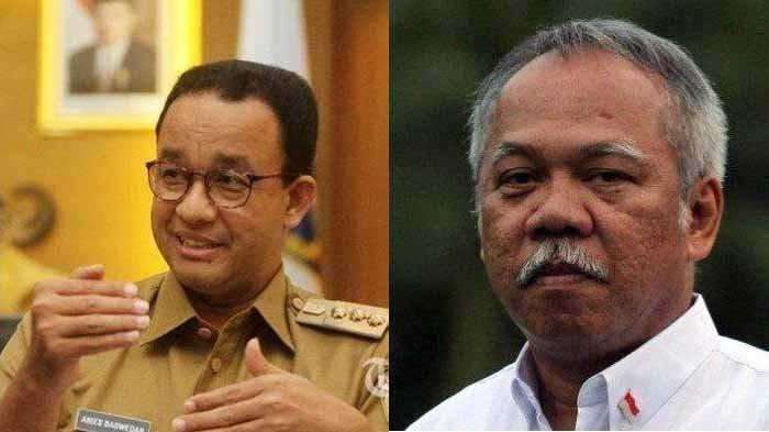 Anies Baswedan Sanggah Menteri Basuki Soal Normalisasi Sungai Jadi Jalan Keluar Atasi Banjir Jakarta