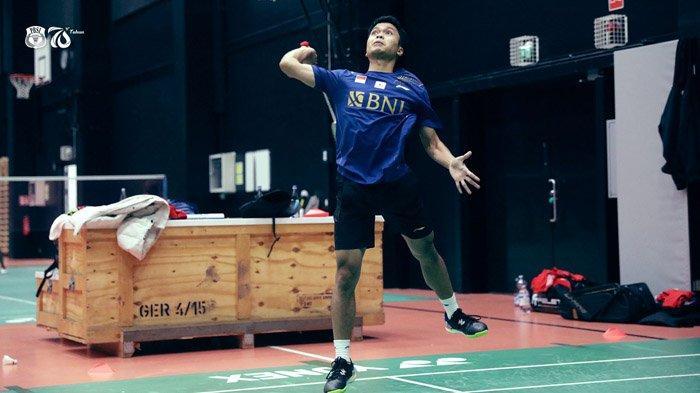 Hasil Thomas Cup 2020 - Anthony Sinisuka Ginting Bawa Indonesia Unggul 1-0 Atas Taiwan