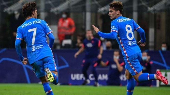 Hasil Skor AC Milan vs Atletico Madrid 1-2: Kartu Merah Frank Kessie Bikin Rossonerri Menderita