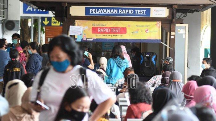 PT KAI Tambah Layanan Rapid Test Antigen, Ini Daftar Lokasinya di 12 Stasiun Wilayah Jawa Timur