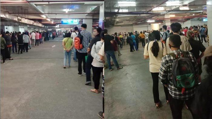Antrean Panjang di Vaksinasi Covid-19 Tunjungan Plaza Surabaya, Polisi Sebut Belum Ada Koordinasi