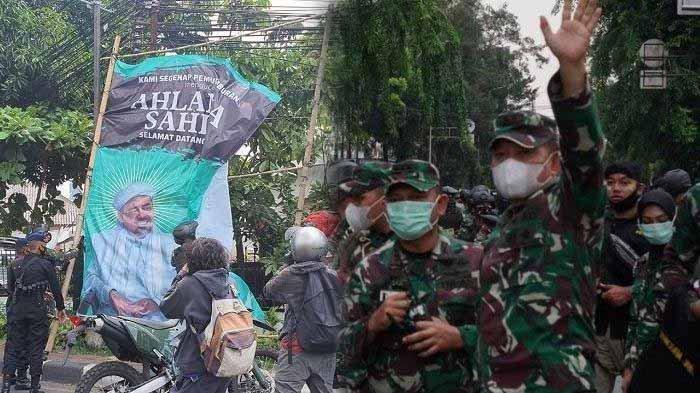 Pencopotan Baliho Habib Rizieq Berlanjut, Massa FPI Sempat Hadang Tim TNI-Polri