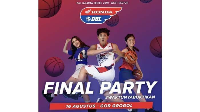 Laga Puncak Honda DBL Jakarta Barat Livestream di Aplikasi DBL Play Sore Ini