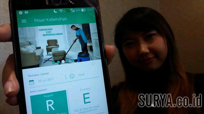 Pengembang Aplikasi Luncurkan 'Mbakmu', Aplikasi Untuk Panggil Jasa Bersihkan Rumah