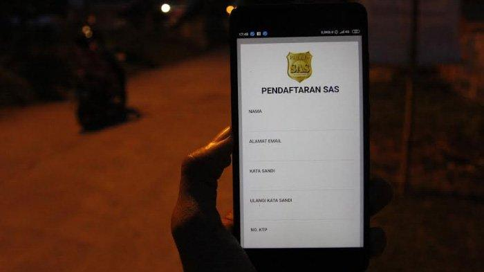 Aplikasi SAS Polres Mojokerto Kota Tak Bisa Diakses. Kenapa?