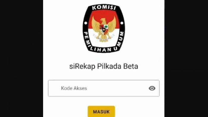 Pantau Hasil Pilkada 2020 Surabaya dan Kabupaten/Kota Jatim via Aplikasi Sirekap, Download di Sini