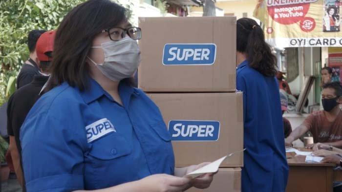 Aplikasi Super Ajak Masyarakat Berdonasi untuk Para PKL Terdampak covid-19