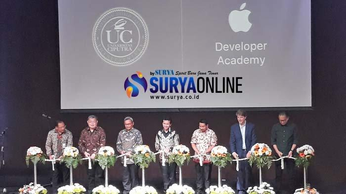 Resmi Dibuka di Universitas Ciputra Surabaya, Apple Developer Academy Buka 100 Peserta Tiap Tahunnya