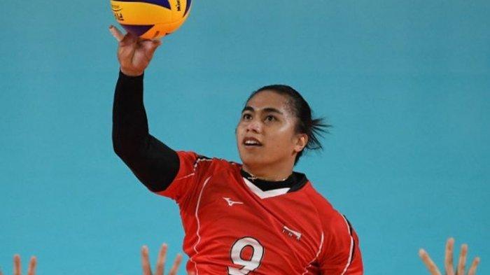 Aprilia Manganang mantan atlet voli putri dipastikan laki-laki.