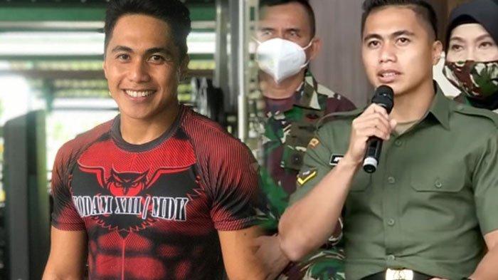 Potret Gagahnya Aprilia Manganang Pakai Seragam TNI AD Pria, Jenderal Andika Perkasa Dampingi Sidang