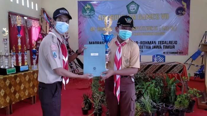 Serunya Kompetisi Ar-Rohman Games VII di MTs Ar-Rohman Tegalrejo, Kabupaten Magetan