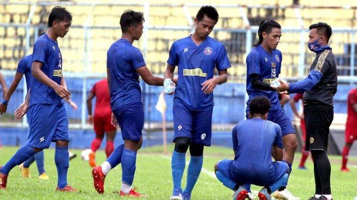 Skor Akhir Arema FC Vs Rans FC 6-2, Singo Edan Dapat Hadiah Khusus dari Presiden Klub Baru
