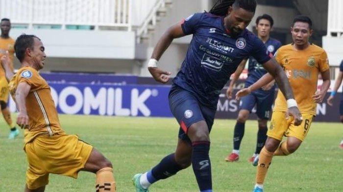 Ditahan Imbang Arema FC 1-1, Bhayangkara FC Kecewa Keputusan Wasit