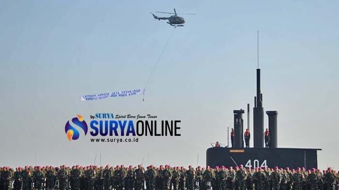 Galeri Foto Apel Kesiapan Armada Jaya XXXVII 2019 TNI AL di Dermaga Ujung Surabaya