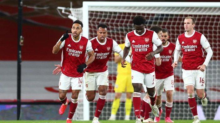 Arsenal bakal mencoba meneruskan tren positif mereka di tahun 2021